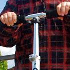 Skaten, skateboarden en steppen