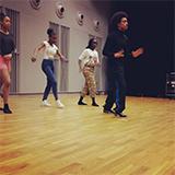 Dansles voor jongeren op Campus Hoogvliet