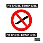 No knives, better lives.