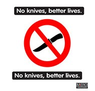 No knives, better lives.